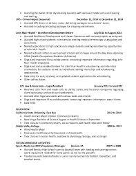 Bakery Clerk Job Description For Resume by Ups Resume Resume Cv Cover Letter