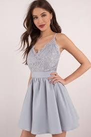 light blue dress mila light blue lace pleated sleeveless skater dress 305 kr