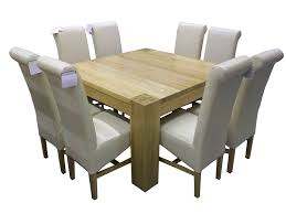 Dining Room Table With 8 Chairs Chair Large Round Oak Dining Table 8 Chairs Square Tables With Se