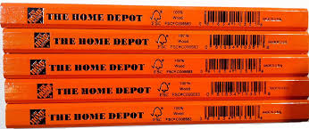 Homedepot by Amazon Com Home Depot Carpenter Pencil 5 Pack Home Improvement