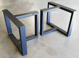 custom metal table legs by urban ironcraft custommade com