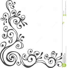 black and white ornament stock illustration illustration of