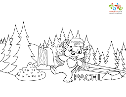 children in wheelchair in the park coloring pages free download