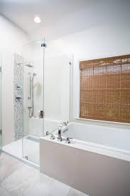 Bathroom And Shower Designs by Modern Monochromatic Bathroom Renovation Designs By Bsb Hgtv