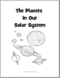 Layers Of The Earth Coloring Page The Planets In Our Solar System Books Coloring Page