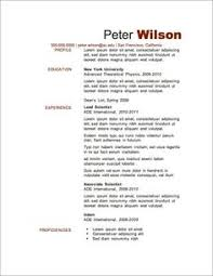 Resume Format Best by Professional Resume Template Free Resume Builder Resume Http