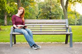 sitting on bench stock photos u0026 pictures royalty free sitting on