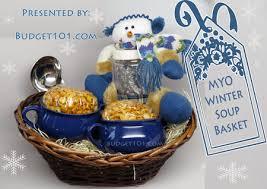 winter soup gift basket gift basket ideas