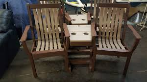 Dexter Rocking Chair Only Amish Handcrafted Hardwood Furniture Chelsea Mi