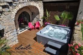 chambre avec hammam privatif bed and breakfast pool gorges du tarn millau aveyron lozere
