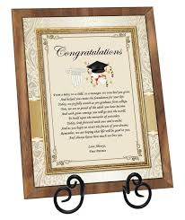 graduation plaque graduation gift plaque present college high school graduate