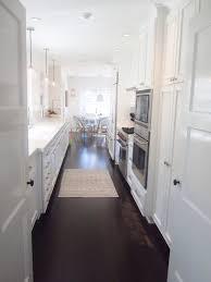 white galley kitchen designs kitchen vintage white galley kitchen design ideas with nice sofa