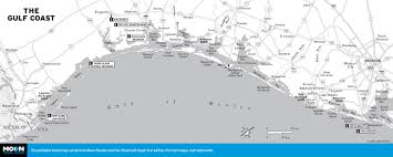 Panhandle Florida Map by Printable Travel Maps Of Texas Moon Travel Guides