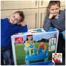 step2 waterwheel play table review step2 water wheel play table from activity toys direct