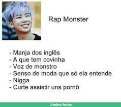 Rap Dos Memes - caracter祗sticas de namjoon my kim nam joon pinterest bts