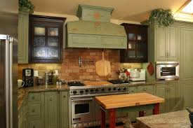 Green Country Kitchen Adorable Green Country Kitchen Green Country Kitchen Designs