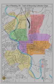 Map Of Berks County Pa Municipal Trash Disposal Bid City Of Reading Pennsylvania