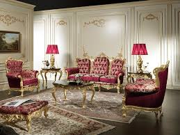 classic living room furniture sets classic and artistic luxury red living room sofa orchidlagoon com