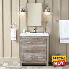 30 Inch Modern Bathroom Vanity Vanities Fresca Mezzo Teak Mdf Aluminum Glass 48 Inch Wall Hung