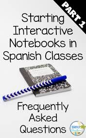 tips for starting spanish interactive notebooks part 1 island