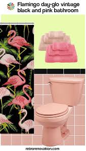 16 designs to decorate a pink and black bathroom pink black