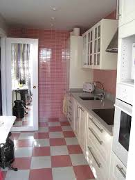 Steven Sclaroff by Pink Checkerboard Floor And White Cabinets Checkerboard Floors