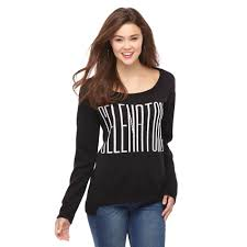 selena gomez sweater out loud by selena gomez junior s boat neck sweater
