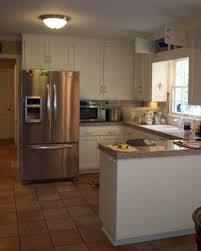 kitchen design ideas for u shaped kitchen frigidaire stainless