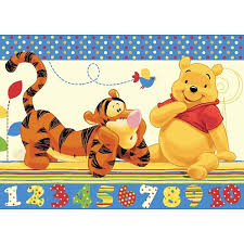 tapis de chambre winnie l ourson tapis pour chambre d enfant winnie l ourson co 95 x 133 cm