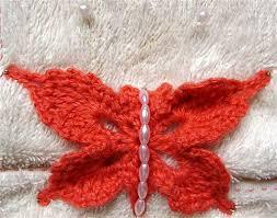 brooch 23 butterfly pattern by rainbow dandelion