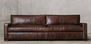 restoration hardware maxwell leather sofa maxwell leather rh