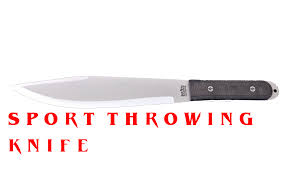 Bark River Kitchen Knives Sport Throwing Knife Thumbnail