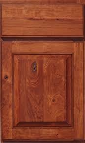 Haas Cherry Doors - Rustic cherry kitchen cabinets
