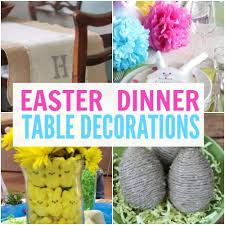 Easter Food Decorations by Easter Dinner Table Decorations Coupon Closet