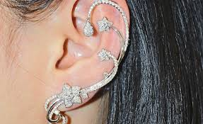 ear wraps ear cuffs are back and this time with bling star2