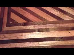 wood floors borders and designs
