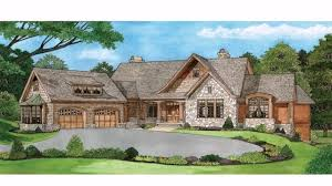 backyard simple ranch style house plans with walkout basement