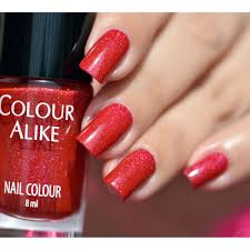 red colour nail art images nail art designs