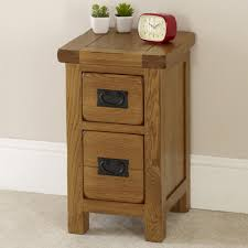 fresh ideas very slim bedside table oak narrow rustic hauzzz interior