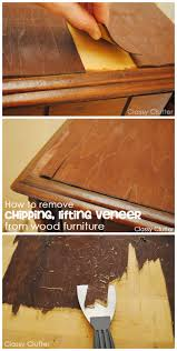 How To Remove Laminate Flooring Without Damaging It How To Remove Veneer From Wood Furniture The Easy Way Classy