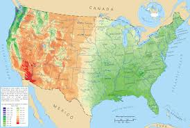 Arizona Strip Map by United States Rainfall Climatology Wikipedia