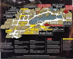 halloween horror nights calendar universal orlando brochures u0026 miscellaneous items