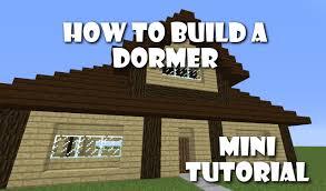 how to build dormers mini tutorial youtube