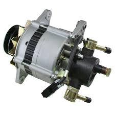 alternator for isuzu npr 3 9 3 9l turbo diesel w vac pump ebay