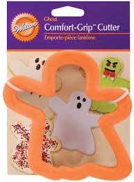 amazon com wilton halloween comfort grip ghost cutter halloween