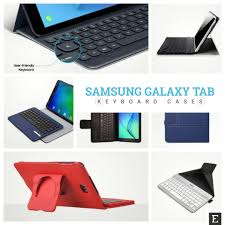 8 best keyboard cases you can use with your samsung galaxy tab tablet