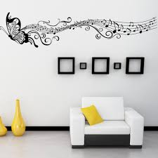 compare prices on pvc music butterfly wall stickers online classic pvc music butterfly sticker removable room decal diy wall sticker animal decoration for kids bedroom