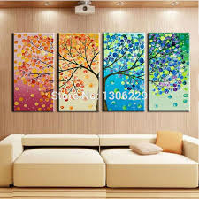 Wall Decor Canvas Painting For Wall Decoration 4 000 Wall Paint Ideas