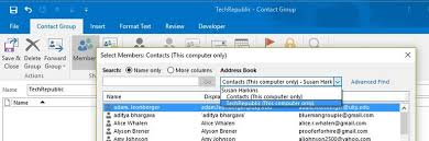 how to create an outlook address book in 2013 how to create and update outlook contact groups the easy way