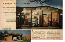 Eichler Style by Continuous Interior To Exterior Beam Greenbuildingadvisor Com